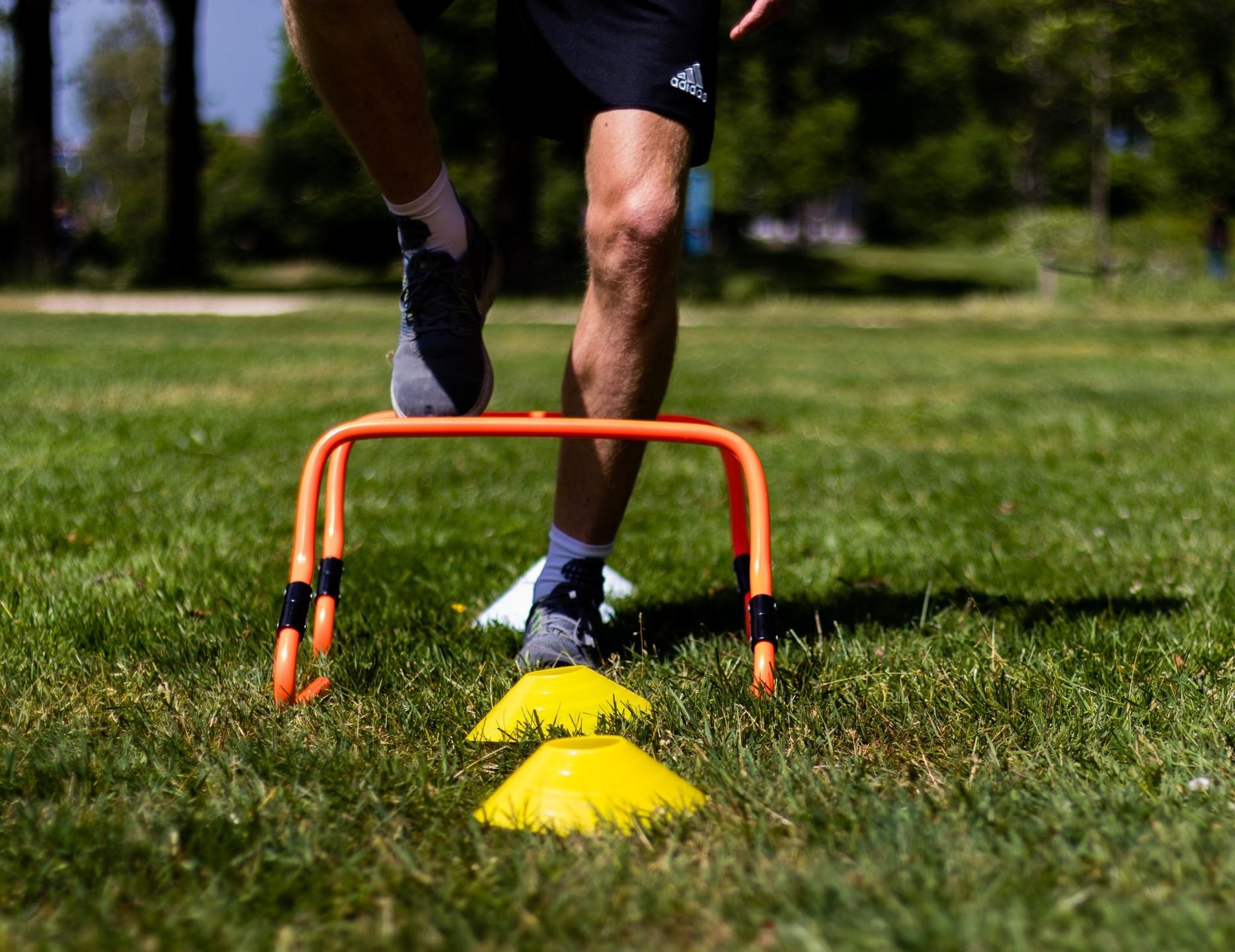 Horden oefeningen en hordes training