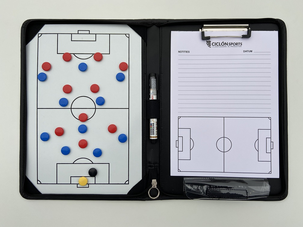 Unieke voetbal coachmap