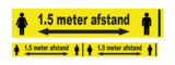 Afzetlint 1,5 meter afstand houden_
