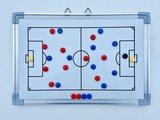 Voetbal tactiekbord 30 x 45
