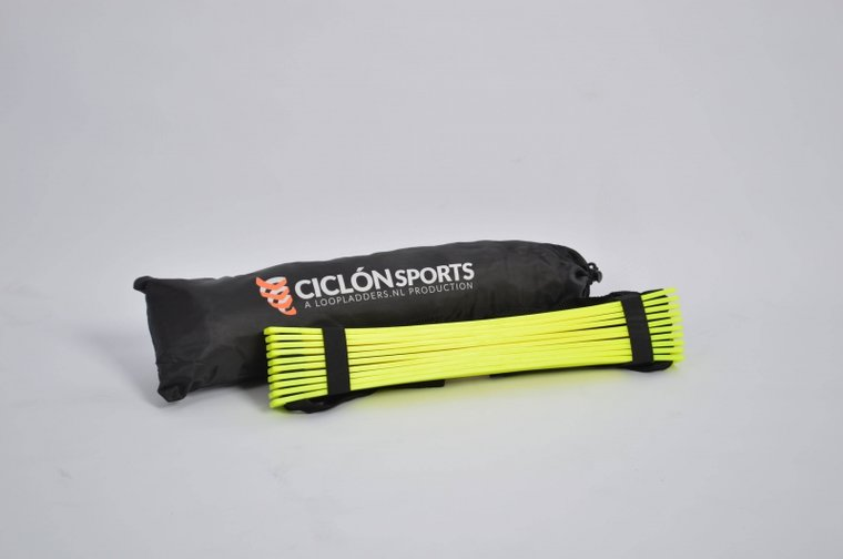 Loopladder 4 meter + boek met oefeningen | Ciclón Sports