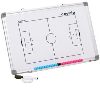 Cawila coachbord voetbal 30 x 45 cm