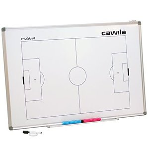 Coachbord voetbal Cawila - 60 x 90 cm - Inclusief accessoires