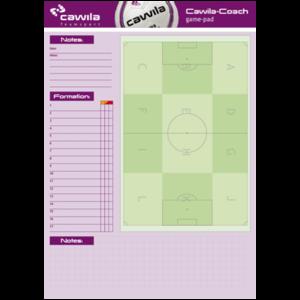 Presentatieblok voetbal - 50 vellen Cawila