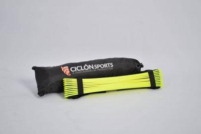 Loopladder 6 meter + boek met oefeningen   Ciclón Sports