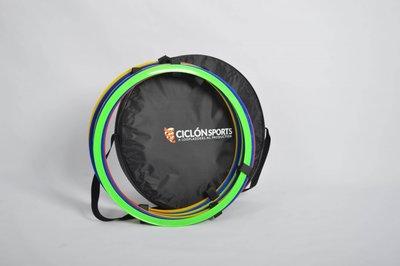 Coördinatie ringen Ciclón Sports - 12 stuks met draagtas