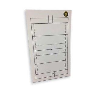 Coachbord - Zelf te ontwerpen opdruk