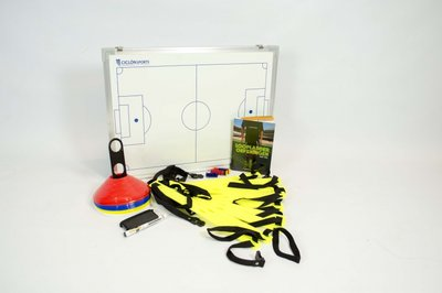Combipakket voor trainers - Coachbord voetbal | Pionnen | Loopladder | Loopladder oefeningen