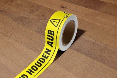 1,5 meter afstand (vloer)tape
