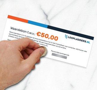 Cadeaubon Loopladders.nl