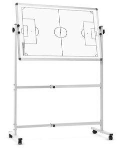 Tactiekbord voetbal - Op statief met wielen - 60 x 90 cm