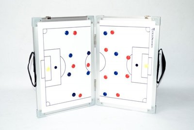 Opvouwbaar coachbord voetbal
