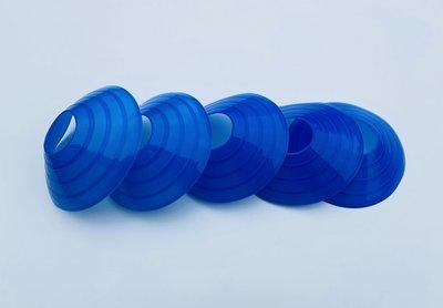 Blauwe pionnen
